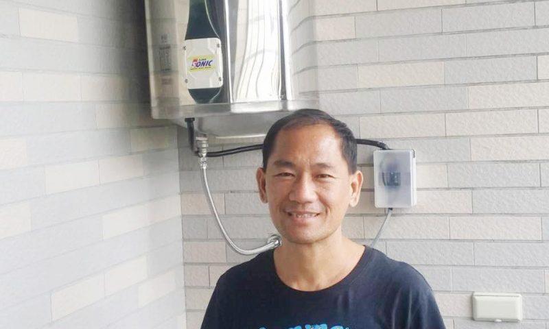 石灰質抑制器-怡心牌-王先生熱水器加裝